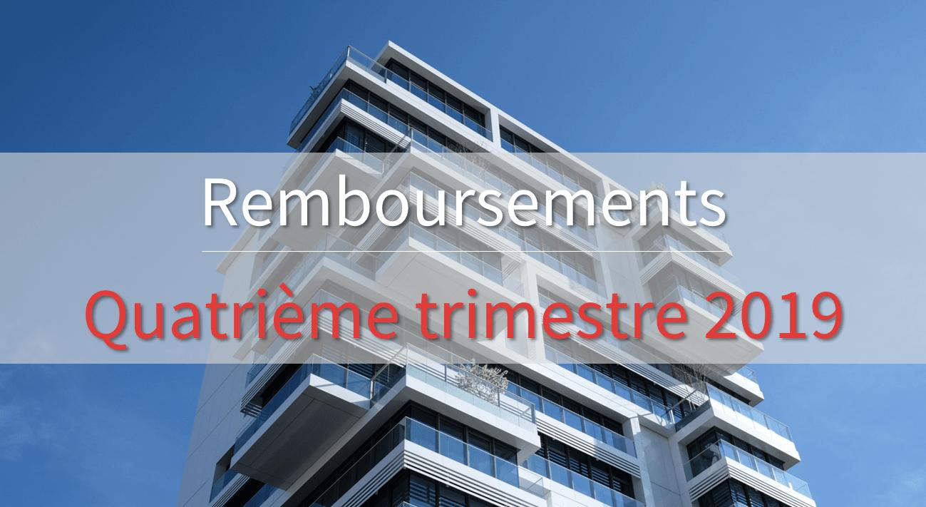Remboursement Fundimmo T4 2019