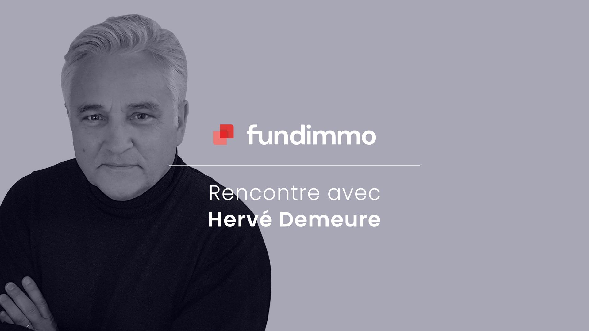 Rencontre avec Hervé Demeure